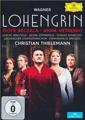 Sächsische Staatskapelle Dresden, Christian Thielemann, … - Wagner - Lohengrin (Deutsche Grammophon, Unitel Classica, 2 DVDs)