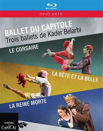 Ballet du Capitole, Orchestre National du Capitole, … - Trois ballets de Kader Belarbi (Opus Arte, 3 Blu-rays)