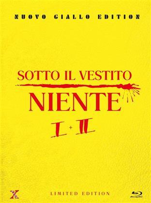 Sotto il vestito niente - 1+2 (Nuovo Giallo Edition, Limited Edition, Mediabook, Uncut, 2 Blu-rays + 2 DVDs)