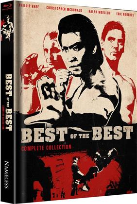 Best of the Best 1-4 - Complete Collection (Limited Edition, Mediabook, 4 Blu-rays)