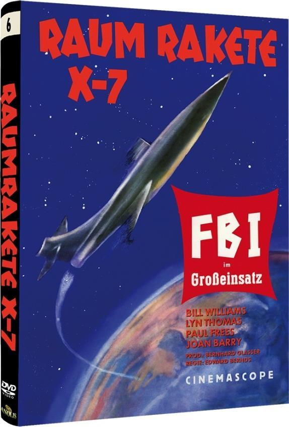 Raumrakete X-7 - FBI im Grosseinsatz (1958) (Cover A, Kleine Hartbox, Sci-Fi & Horror Classics, s/w, Limited Edition)