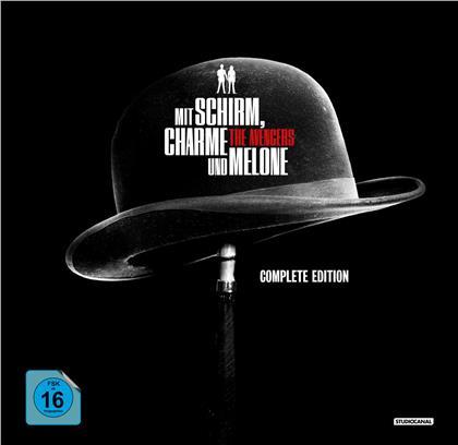 Mit Schirm, Charme und Melone (Complete Edition, s/w, 53 DVDs)