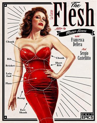 Flesh (1991) (Blu-ray + DVD)