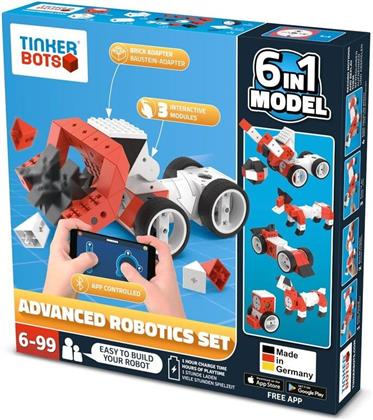 Tinkerbots - Advanced Robotics Set 6 in 1