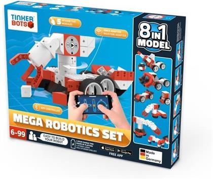 Tinkerbots - Mega Robotics Set 8 in 1