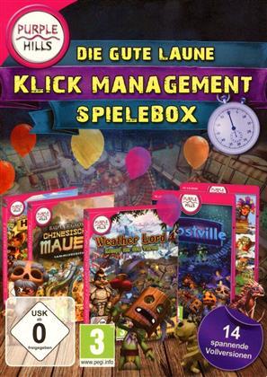 Gute Laune Klick-Management Spielbox