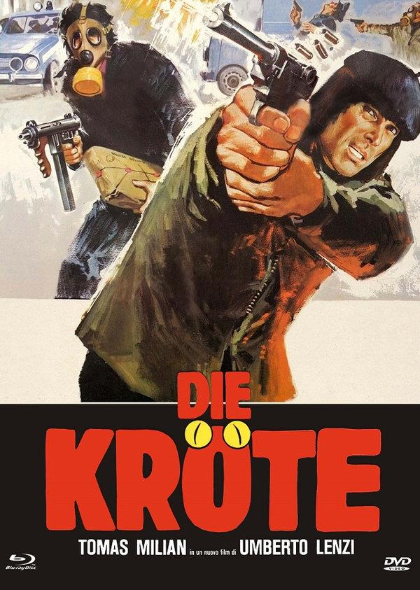Die Kröte (1978) (Cover C, Eurocult Collection, Limited Edition, Mediabook, Uncut, Blu-ray + DVD)