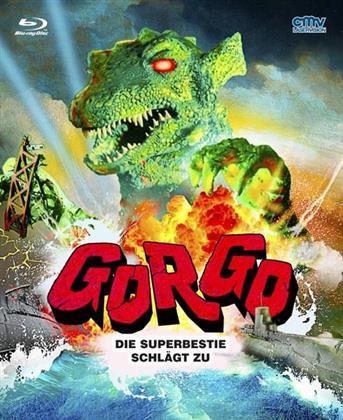 Gorgo - Die Superbestie schlägt zu (1961) (Cover B, Mediabook, Uncut)