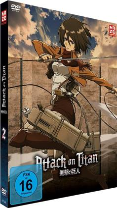 Attack on Titan - Staffel 1 - Vol. 2 (Limited Edition)
