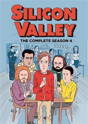 Silicon Valley - Staffel 4 (2 DVDs)