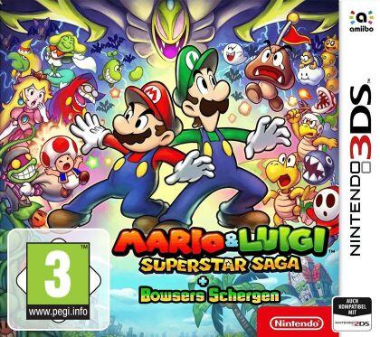 Mario & Luigi Super Star Saga + Bowsers Schergen