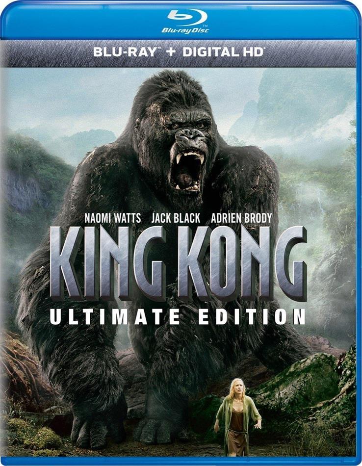 King Kong (2005) (Ultimate Edition, 2 Blu-rays)