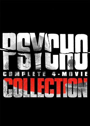 Psycho - Complete 4-Movie Collection (3 DVDs)