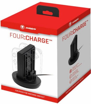 Switch Ladestation für 4 Joy-Con SNAKEB.<br>FOUR:Charge