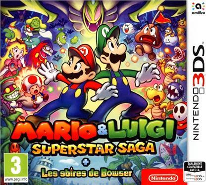 Mario & Luigi: Super Star Saga + Les Sbires de Bowser