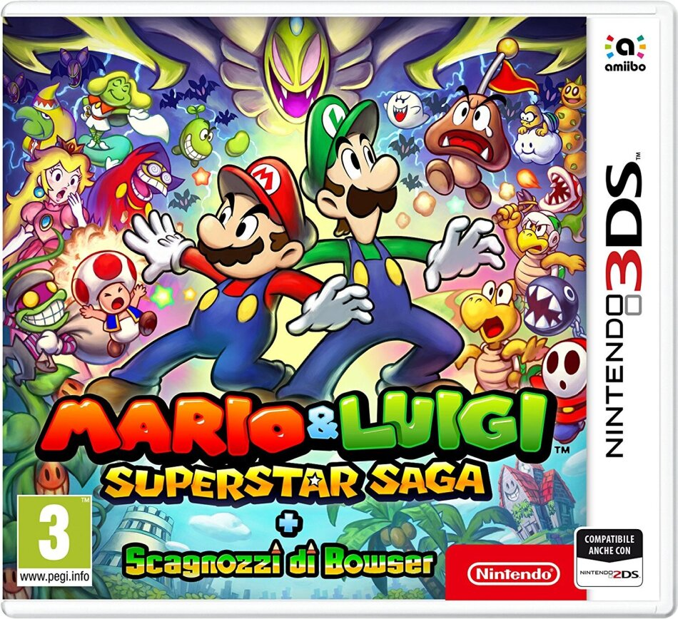 Mario & Luigi: Super Star Saga + Scagnozzi di Bowser