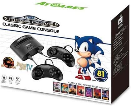 Sega Megadrive Retro Console (81 Games)