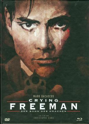 Crying Freeman - Der Sohn des Drachen (1995) (Cover B, Limited Edition, Mediabook, Uncut, Blu-ray + DVD)