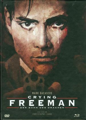 Crying Freeman - Der Sohn des Drachen (1995) (Cover B, Édition Limitée, Mediabook, Uncut, Blu-ray + DVD)