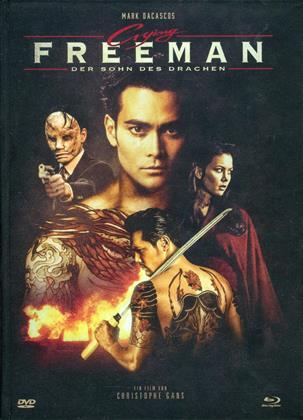 Crying Freeman - Der Sohn des Drachen (1995) (Cover C, Édition Limitée, Mediabook, Uncut, Blu-ray + DVD)