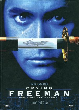 Crying Freeman - Der Sohn des Drachen (1995) (Cover D, Édition Limitée, Mediabook, Uncut, Blu-ray + DVD)