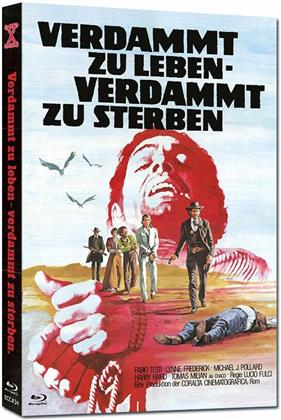 Verdammt zu leben - Verdammt zu sterben (1975) (Cover B, Eurocult Collection, Limited Edition, Mediabook, Uncut, Blu-ray + DVD)