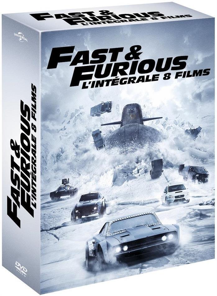 Fast & Furious 1-8 - L'intégrale 8 films (8 DVDs)