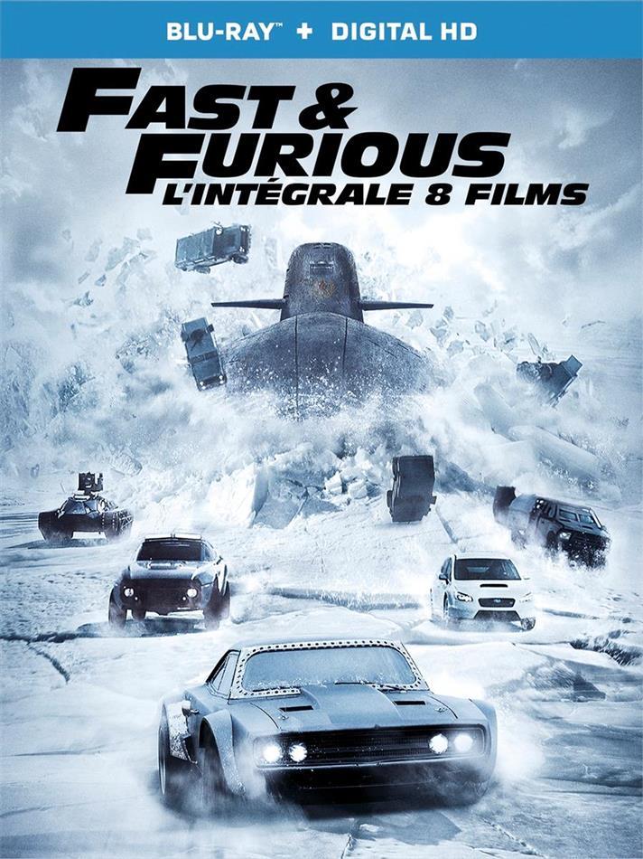Fast & Furious 1-8 - L'intégrale 8 films (8 Blu-rays)