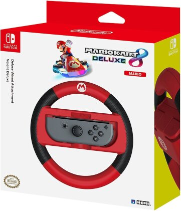 Nintendo Switch - Deluxe Wheel Attachment - Mario