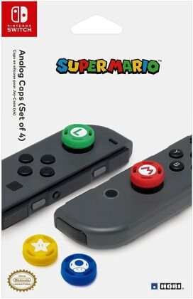 Nintendo Switch - Analogue Caps - Super Mario