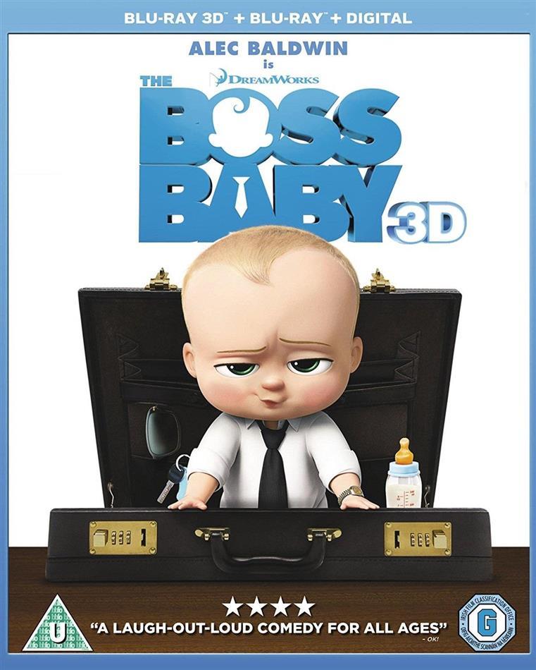 The Boss Baby (2017) (Blu-ray 3D + Blu-ray)