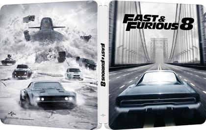 Fast & Furious 8 (2017) (Edizione Limitata, Steelbook)