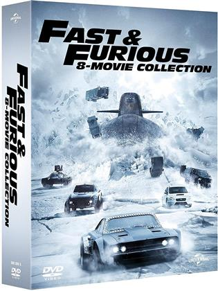 Fast & Furious 1-8 - 8-Movie Collection (8 DVD)