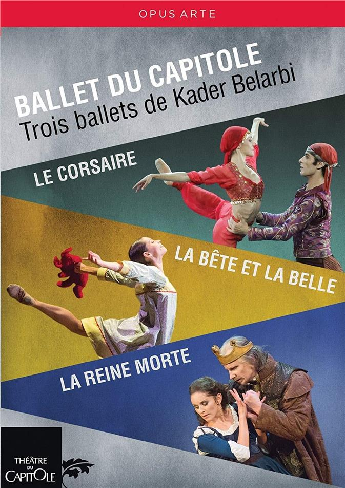 Ballet du Capitole, Orchestre National du Capitole, … - Trois ballets de Kader Belarbi (Opus Arte, 3 DVDs)