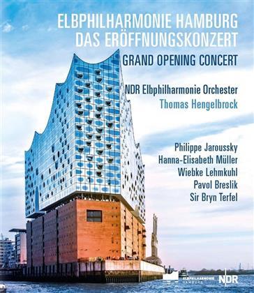NDR Elbphilharmonie Orchester & Thomas Hengelbrock - Elbphilharmonie Hamburg - Das Eröffnungskonzert (C Major, 2 Blu-rays)