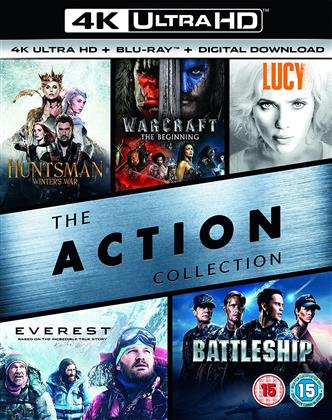 The Action Collection (5 4K Ultra HDs + 5 Blu-rays)