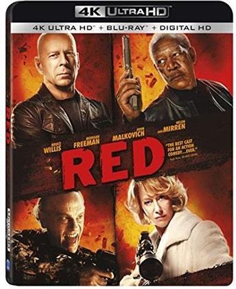 RED (2010) (4K Ultra HD + Blu-ray)