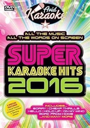 Karaoke - Super Karaoke Hits 2016