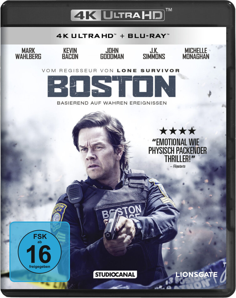 Boston (2017) (4K Ultra HD + Blu-ray)