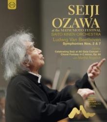 Saito Kinen Orchestra, Seiji Ozawa & Martha Argerich - Seiji Ozawa at the Matsumoto Festival (Euro Arts)