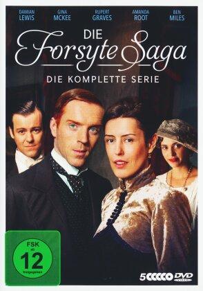 Die Forsyte Saga - Die komplette Serie (5 DVD)