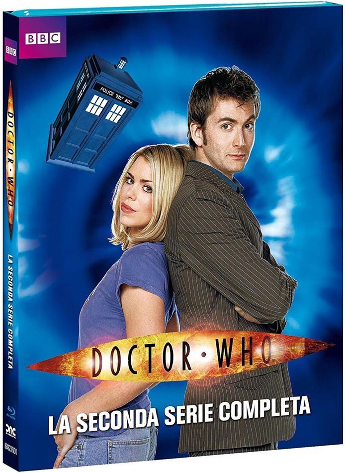 Doctor Who - Stagione 2 (BBC, Neuauflage, 4 Blu-rays)
