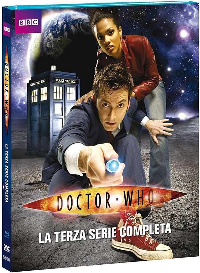 Doctor Who - Stagione 3 (BBC, Neuauflage, 4 Blu-rays)
