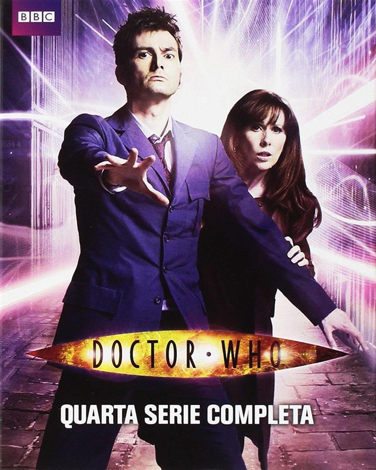 Doctor Who - Stagione 4 (BBC, Neuauflage, 5 Blu-rays)