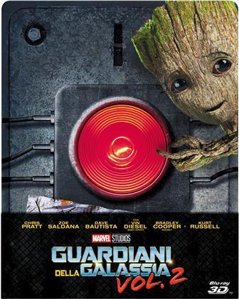 Guardiani della Galassia - Vol. 2 (2017) (Limited Edition, Steelbook, Blu-ray 3D + Blu-ray)