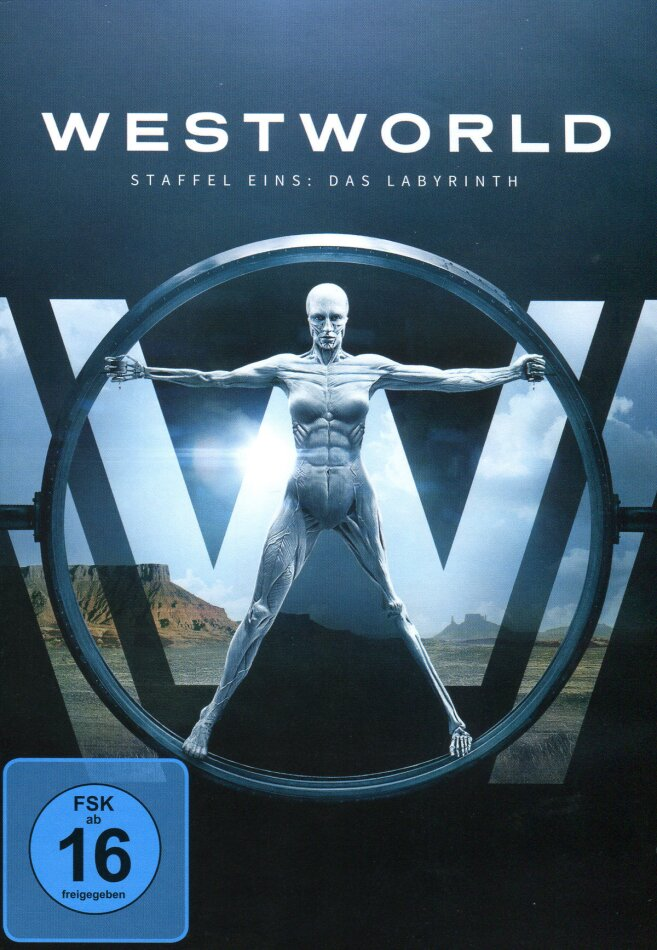 Westworld - Staffel 1 - Das Labyrinth (3 DVDs)