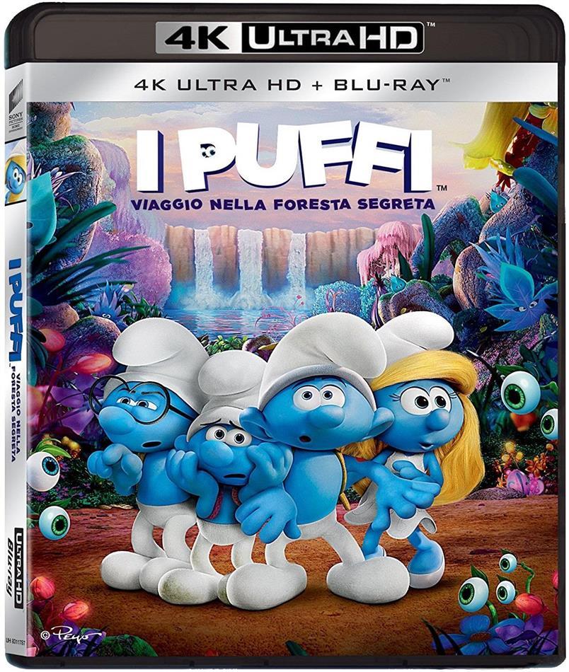 I Puffi - Viaggio nella foresta segreta (2017) (4K Ultra HD + Blu-ray)
