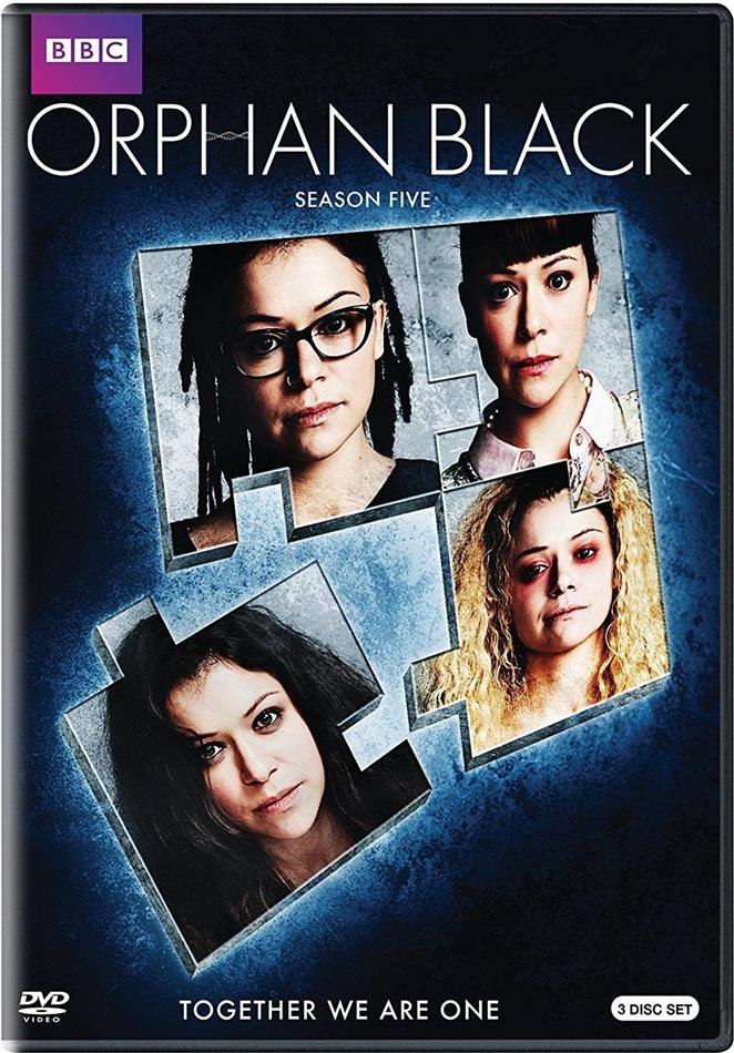 Orphan Black - Season 5 (BBC, 3 DVDs)