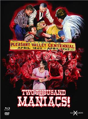 Two Thousand Maniacs! (1964) (Class-X-Illusions, Limited Edition, Mediabook, Uncut, Blu-ray + DVD)