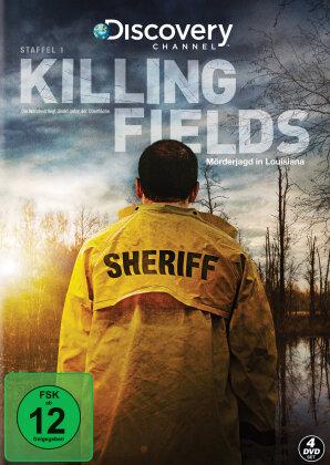 Killing Fields - Mörderjagd in Louisiana - Staffel 1 (Discovery Channel, 4 DVDs)